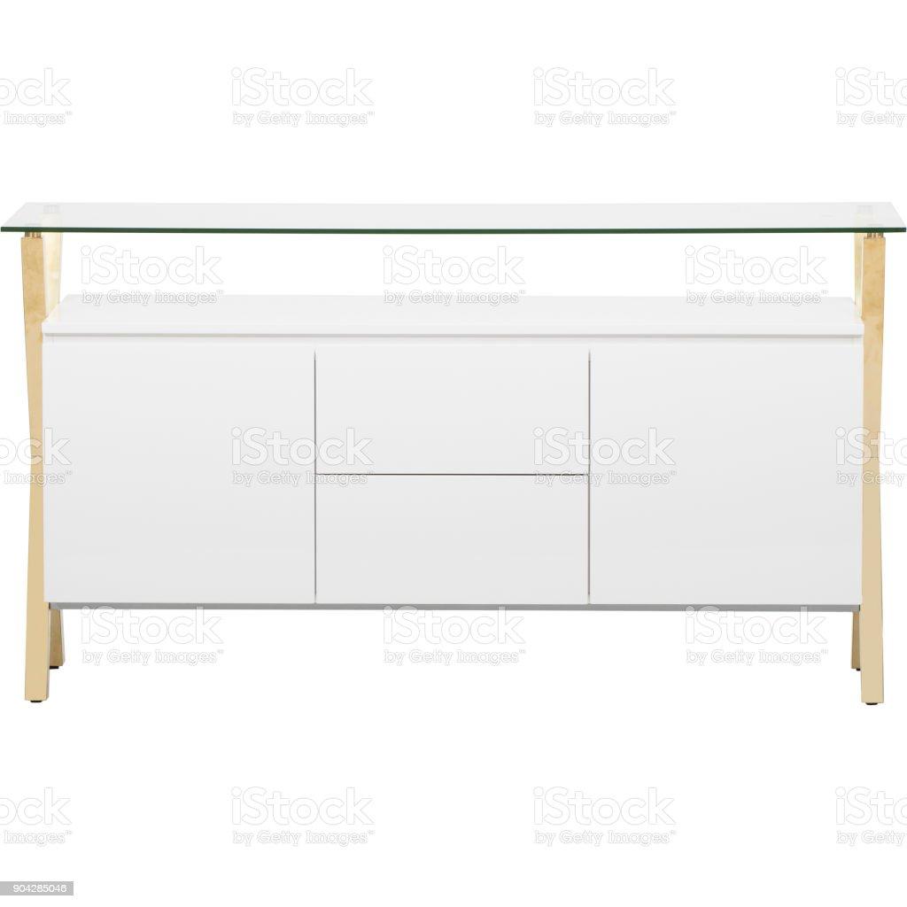 Sideboard Weiß Stockfoto und mehr Bilder von Anrichte - iStock