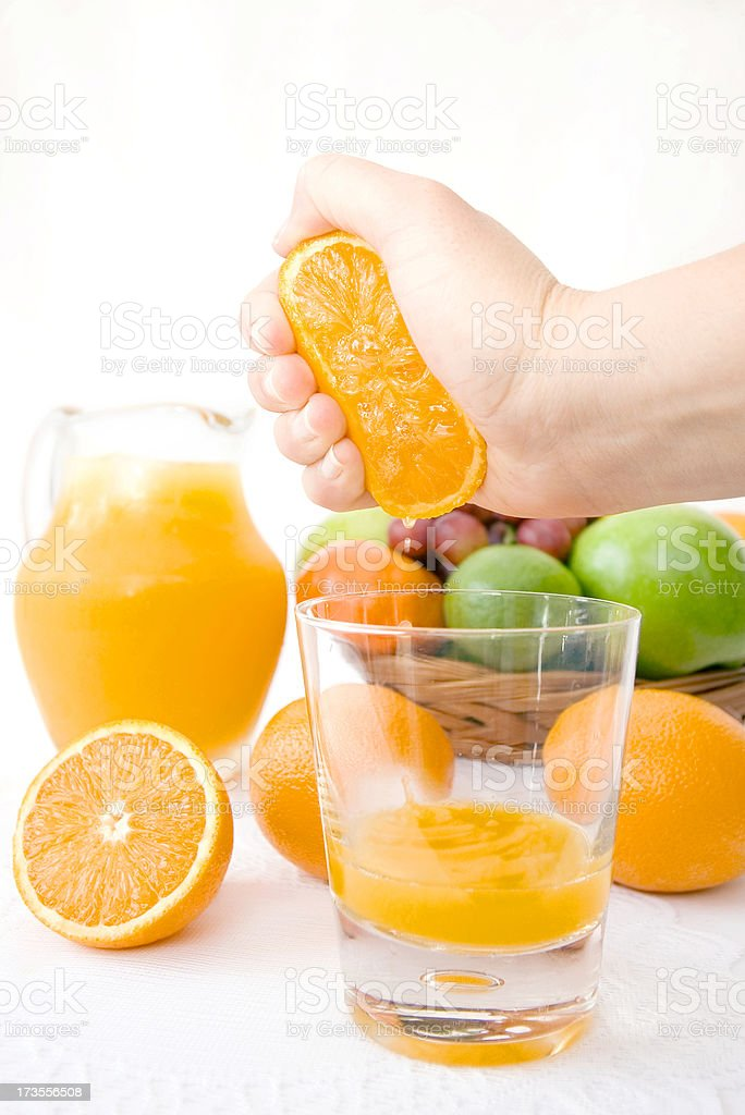 Large Squeeze royalty-free stock photo