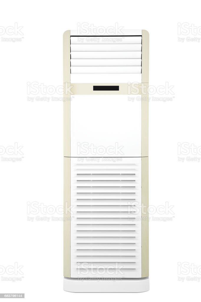 acondicionador de aire de pie grande (trazado de recorte) - foto de stock
