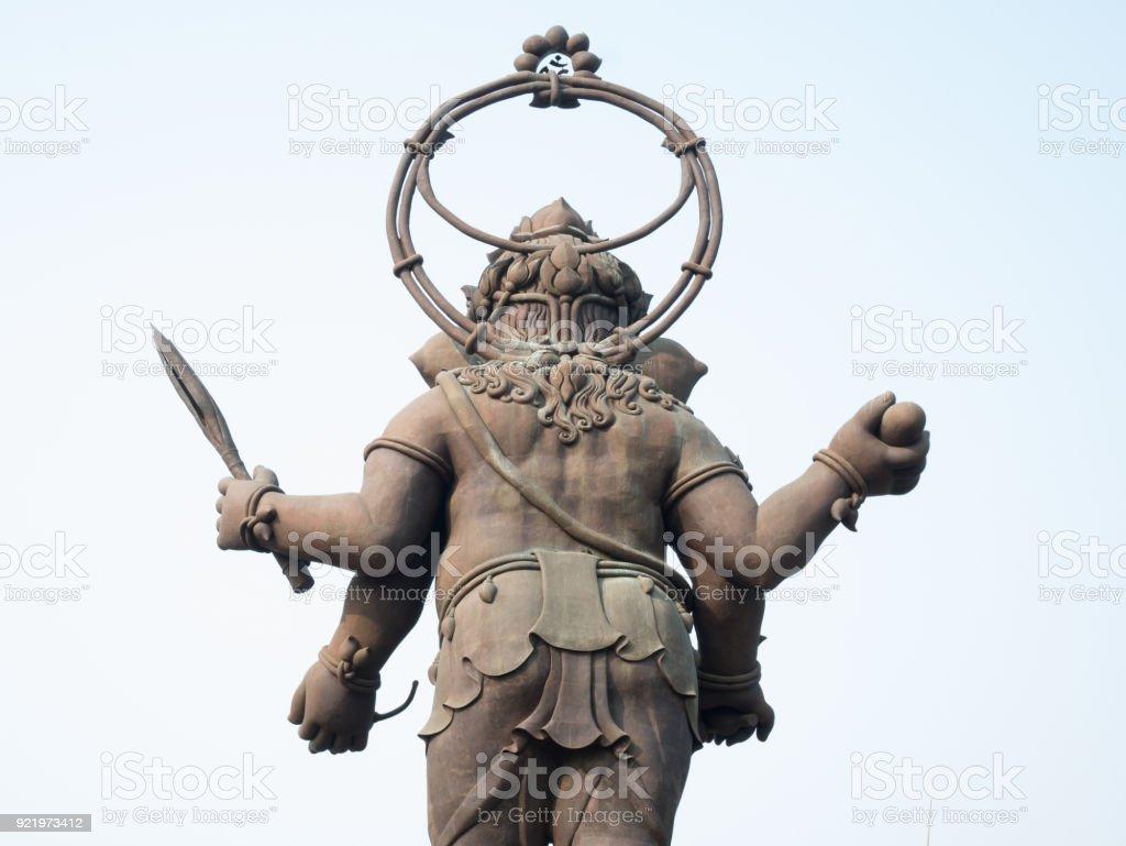 CHACHOENGSAO, THAILAND - FEBRUARY 18: Large statue of Lord Ganesha of Hindu deity in Chachoengsao, Thailand stock photo