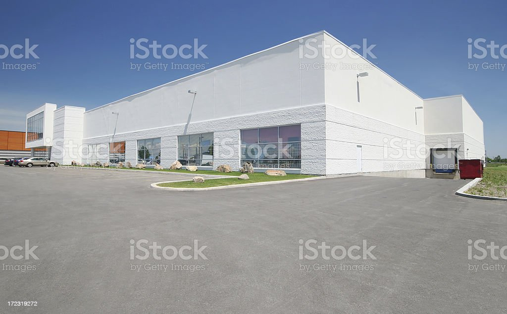 Large Store Exterior stock photo