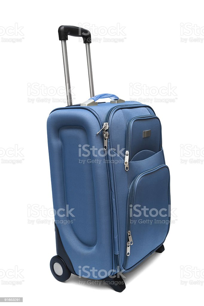 large suitcase royalty-free stock photo