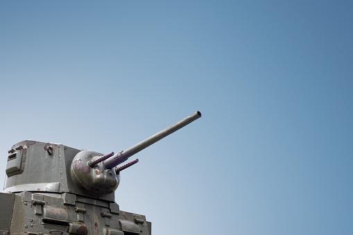 Military heavy war battle weapon steel tank