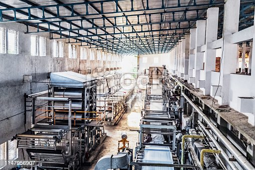 Industries, Machinery, Enterprise, Factory - Image of a large factory setup in India