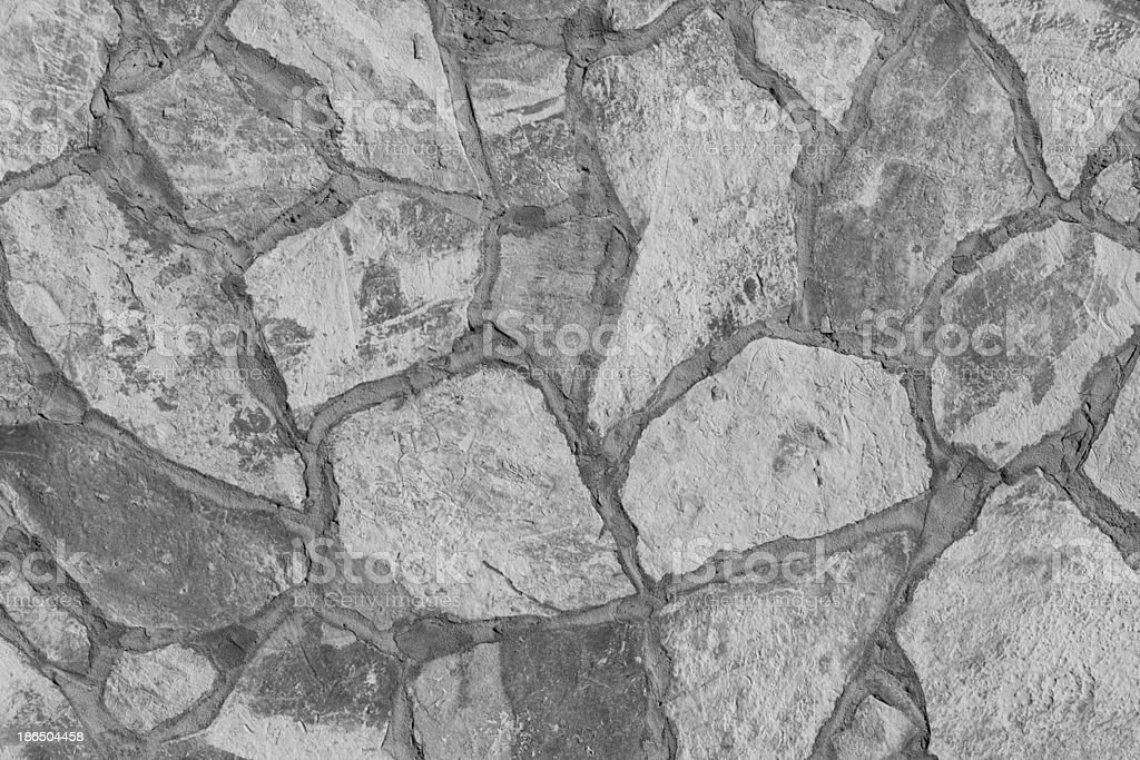 large texture of stone wall royalty-free stock photo