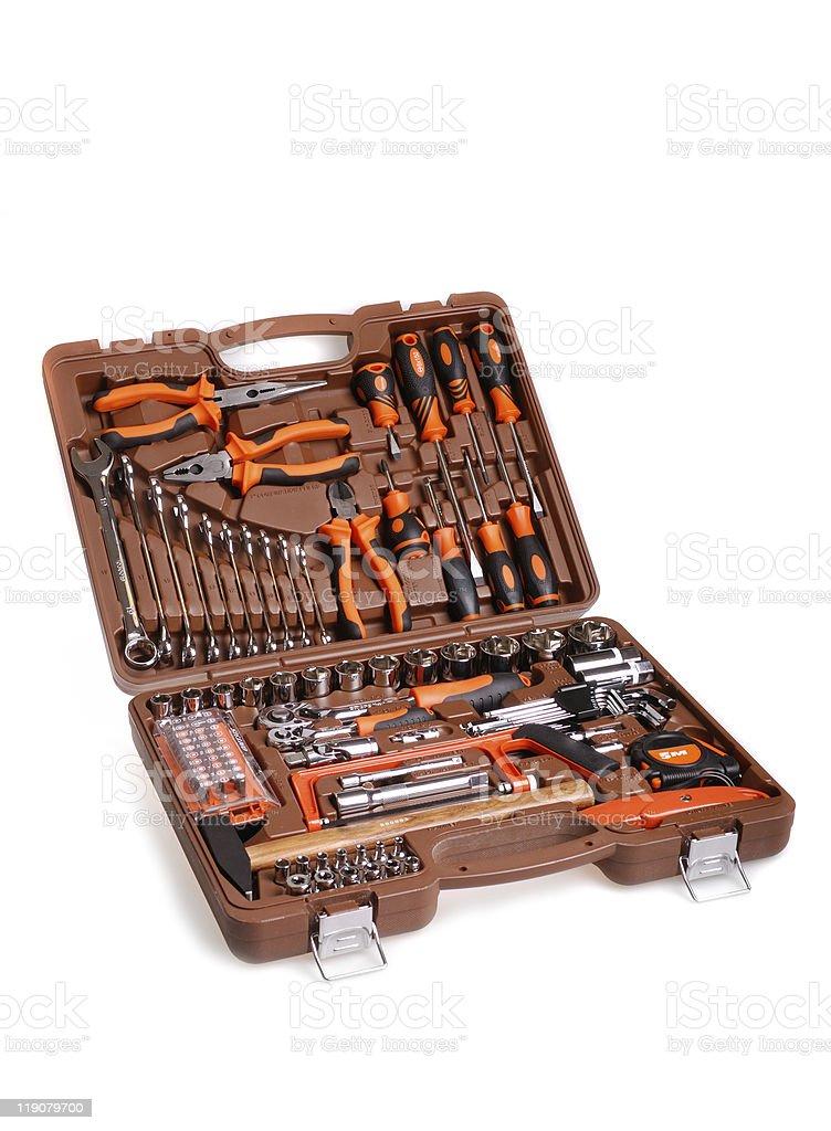 large toolbox royalty-free stock photo