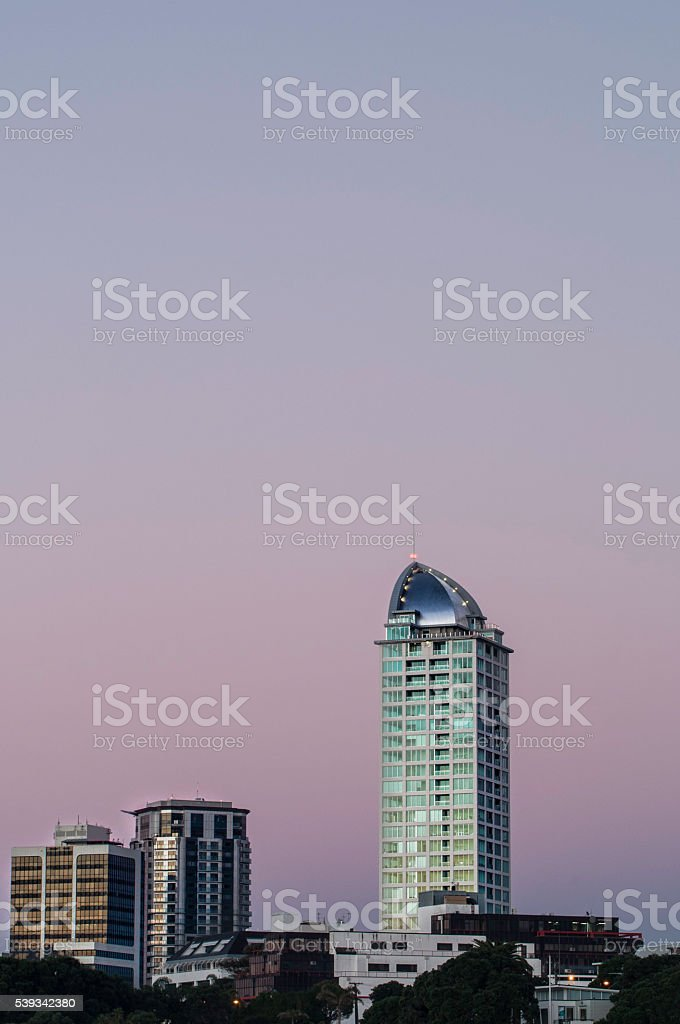 Large tower stock photo