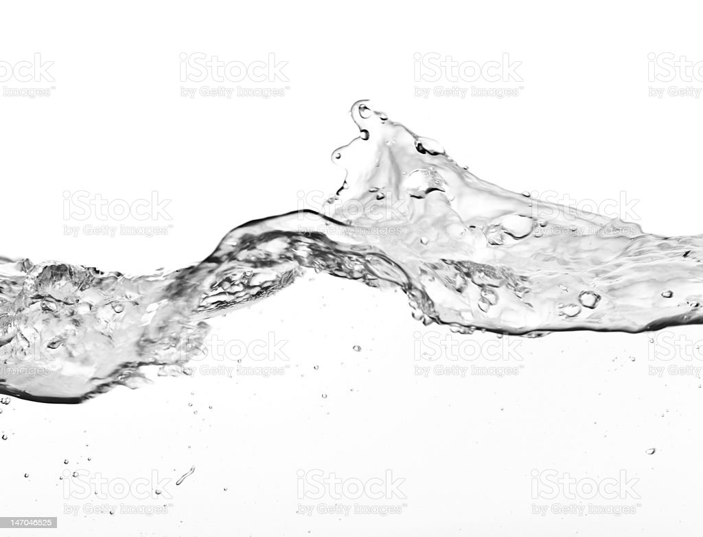 large water wave royalty-free stock photo