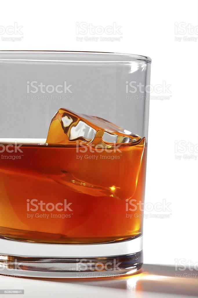 Large whiskey royalty-free stock photo