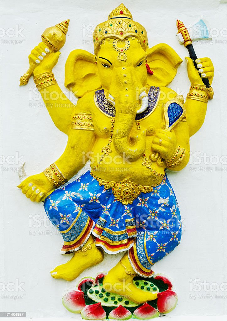 Largest in the World of Lord GANESHA Statue. royalty-free stock photo