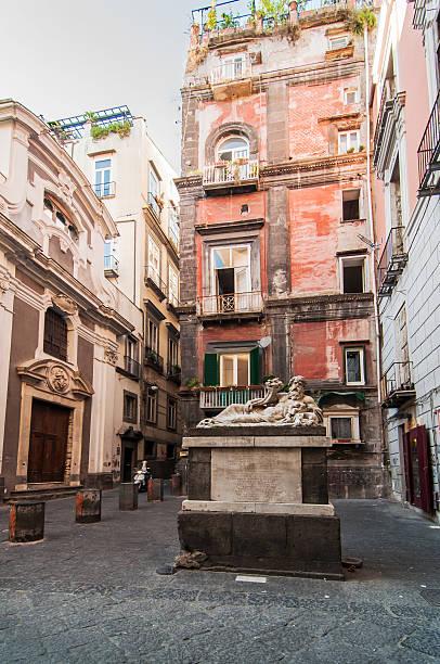 Largo Corpo of Naples stock photo