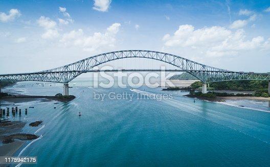 Puente de Las Américas uno de los tres puentes que pasa sobre el Canal de Panamá