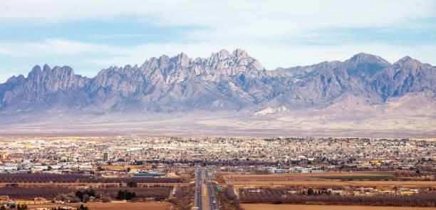 Las Cruces, New Mexico stock photo