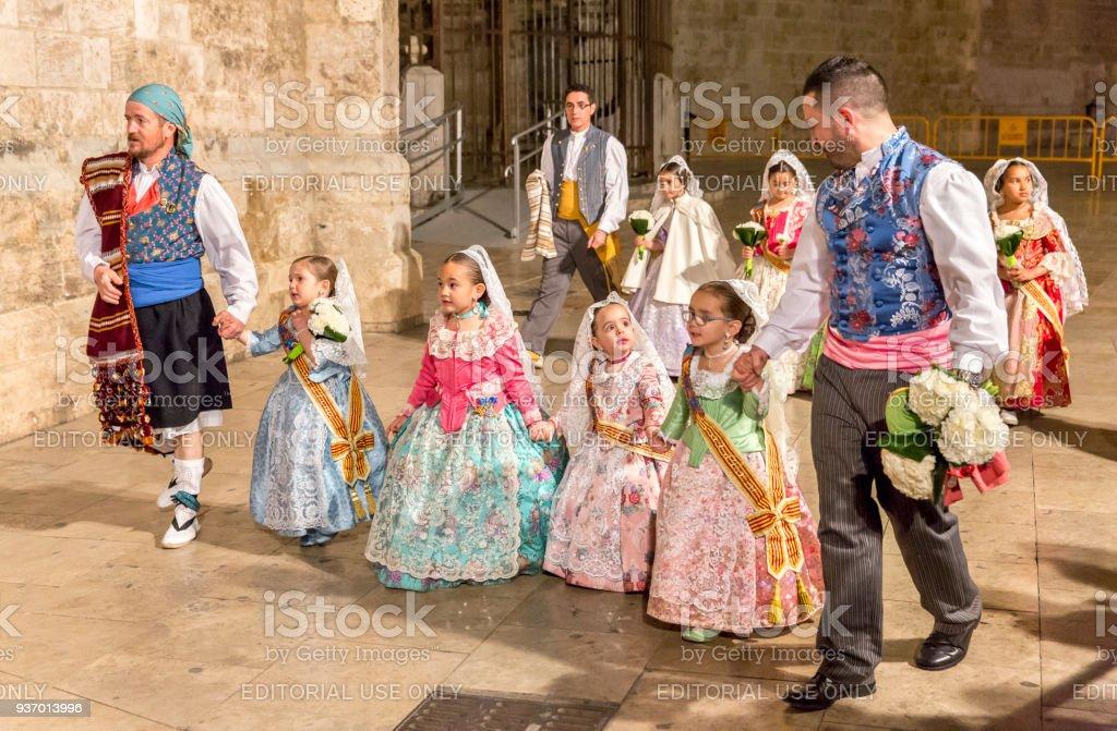 Las Offrant À La Floral Valencia Marie Vierge Espagne Fallas rEqwxrFUp