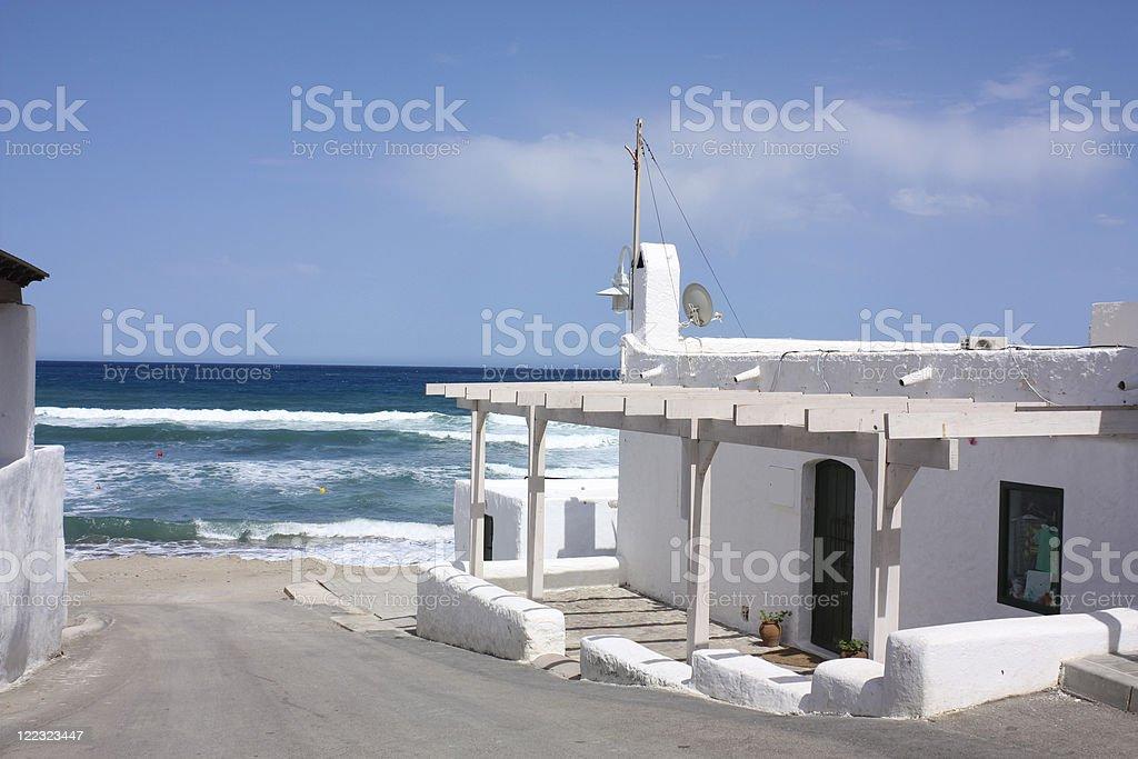 Las Negras, Almeria royalty-free stock photo