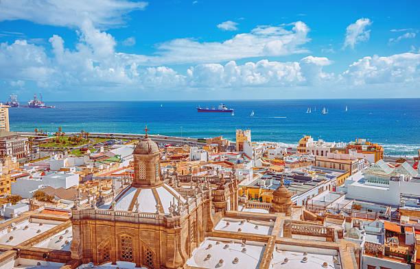 Las Palmas de Gran Canaria stock photo