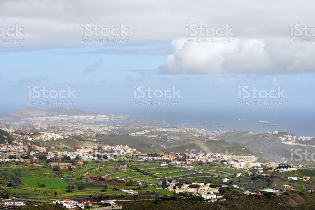 Las Palmas de Gran Canaria - Foto de stock de Acima royalty-free