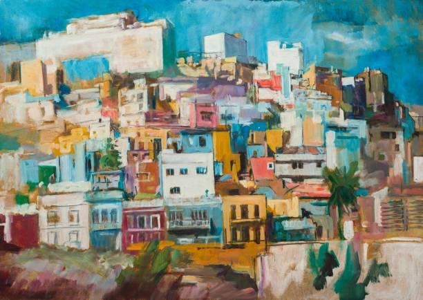 Las Palmas-Malerei – Foto