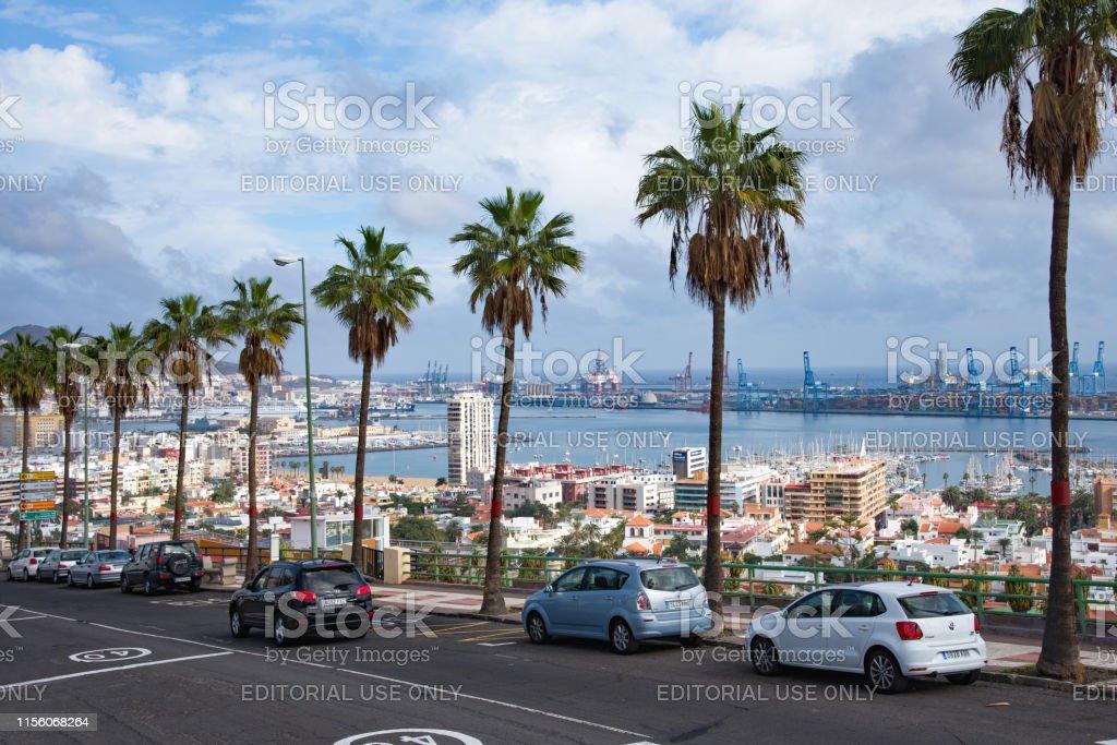Las Palmas town - Foto de stock de Agua libre de derechos
