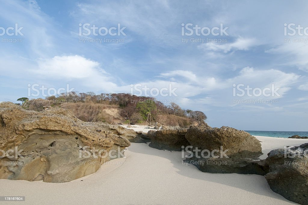 Las Perlas archipelago royalty-free stock photo