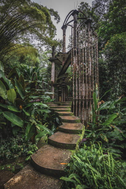 Las Pozas, a surrealist botanical garden in Xilitla Las Pozas, a surrealist botanical garden in Xilitla, Jalisco Mexico san luis potosi stock pictures, royalty-free photos & images
