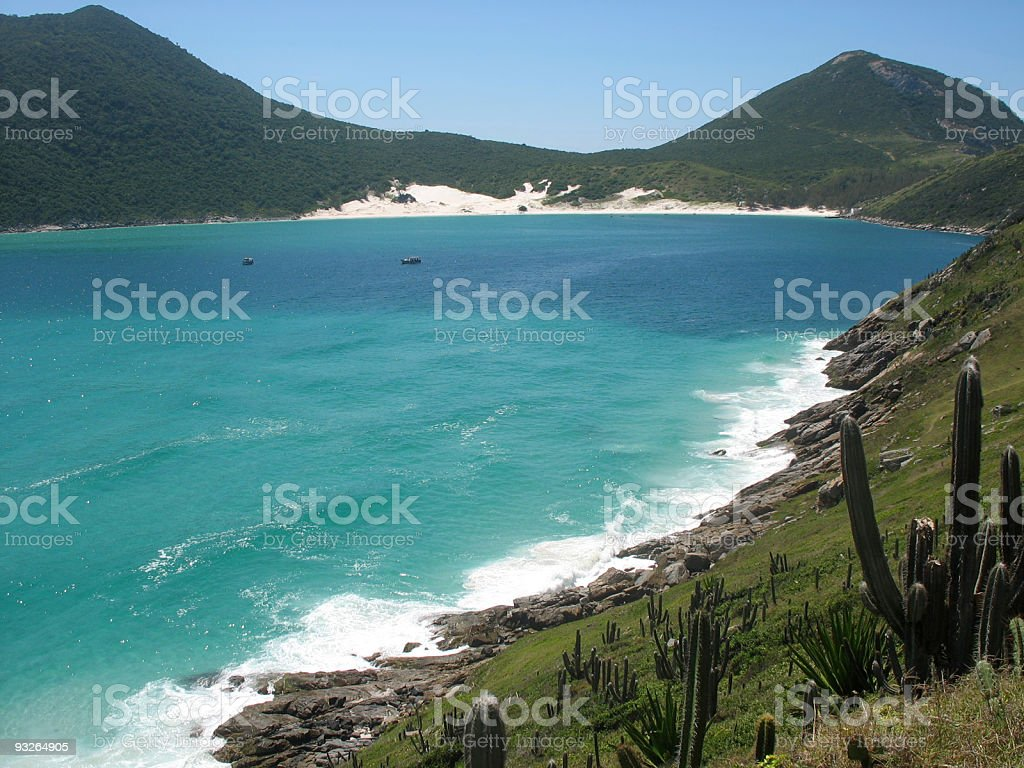 Las Prainhas, Arraial Do Cabo (Brasil). - foto de acervo