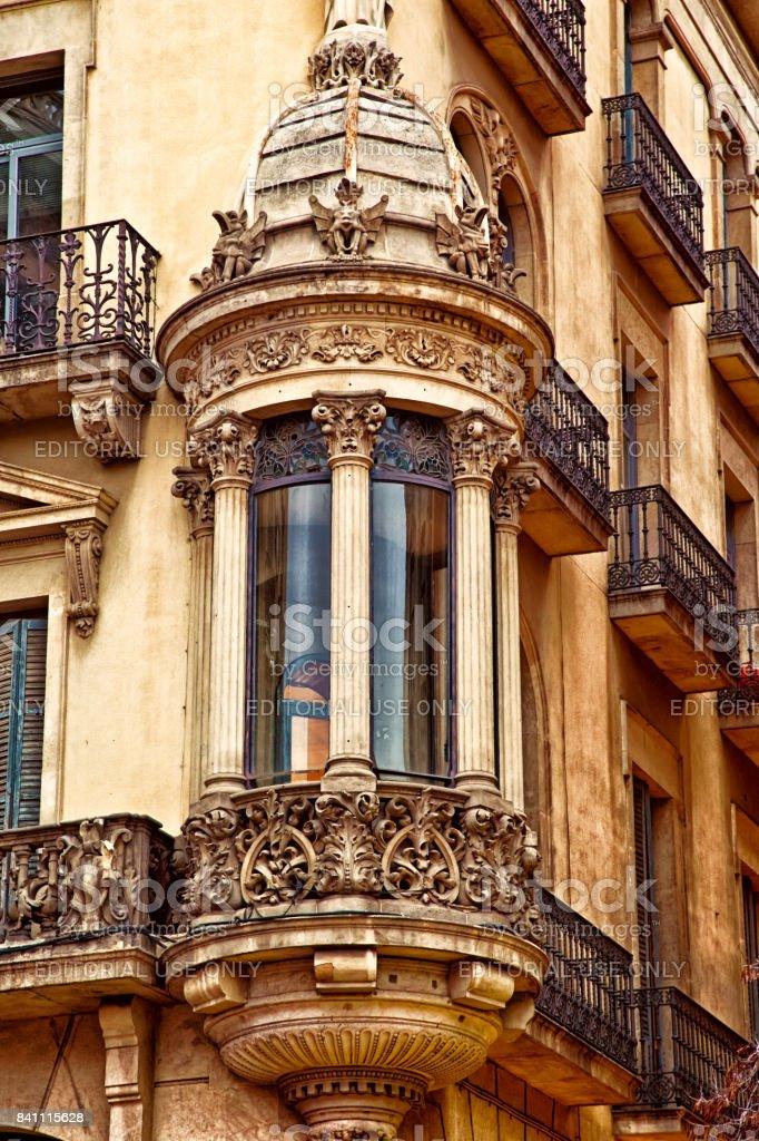 Las Ramblas, Barcelona stock photo