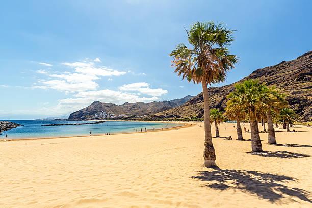 Las Teresitas Beach - Tenerife stock photo