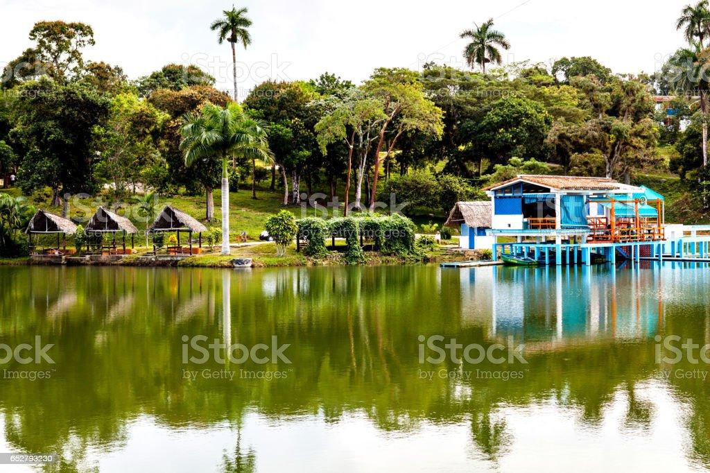 Las Terrazas in Pinar del Rio Province, Cuba stock photo
