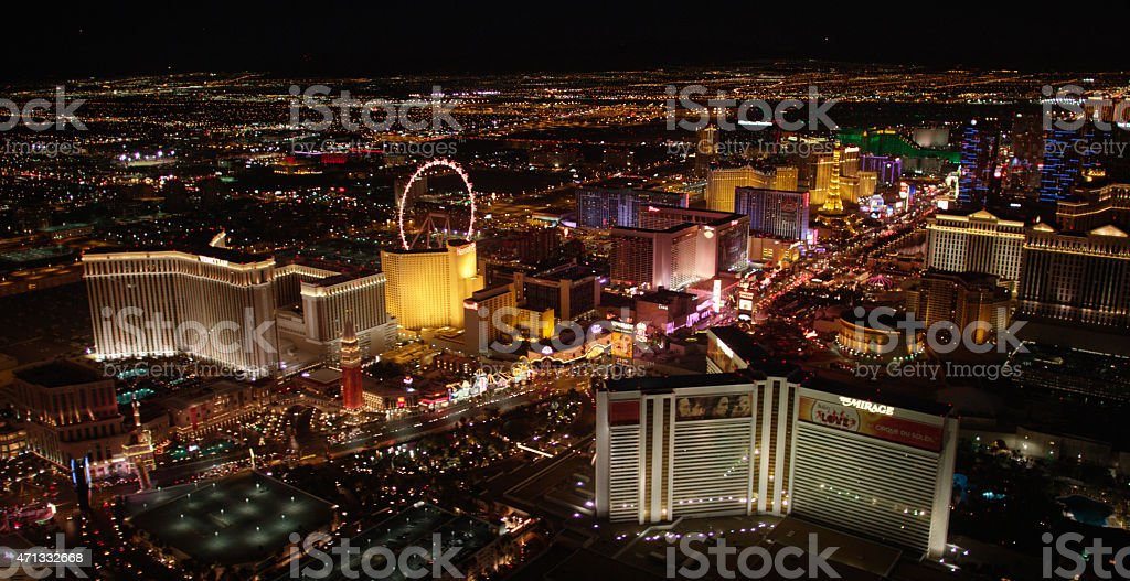 Las Vegas Buildings stock photo