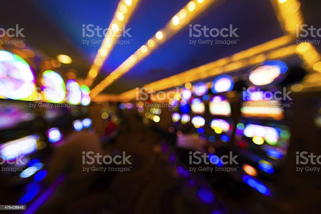 Las Vegas Casino and Slot Machines, Usa stock photo
