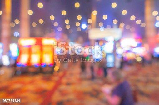 istock Las Vegas Casino Background 982774134