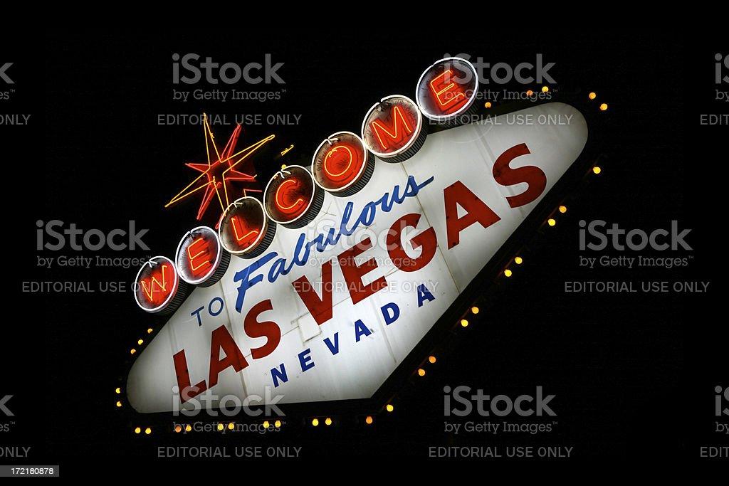 Las Vegas City Limits Sign XXLarge royalty-free stock photo