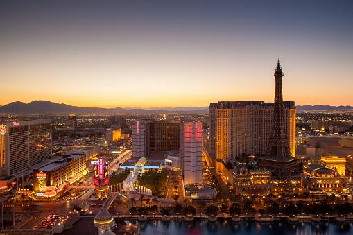 Las Vegas City Sunset