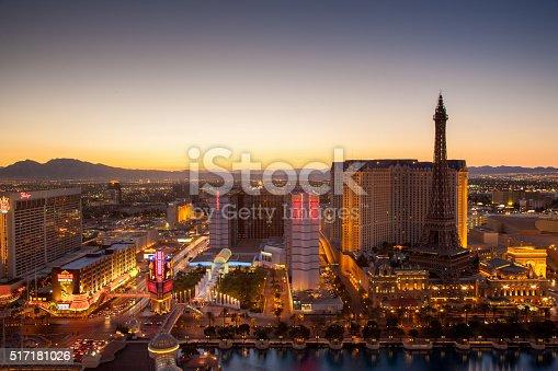 istock Las Vegas City Sunset 517181026