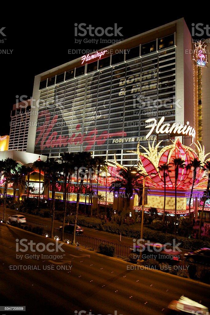 Las Vegas Flamingo Hotel & Casino stock photo