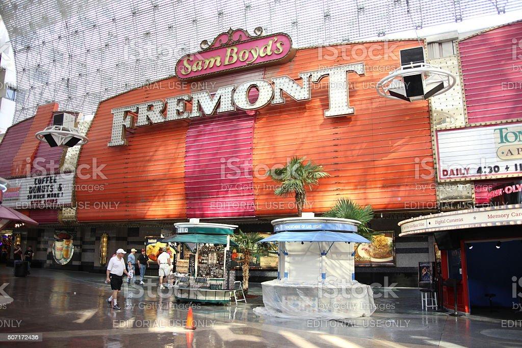 Las Vegas - Fremont Hotel and Casino stock photo