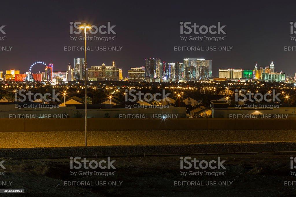 Las Vegas Homes and Resorts stock photo