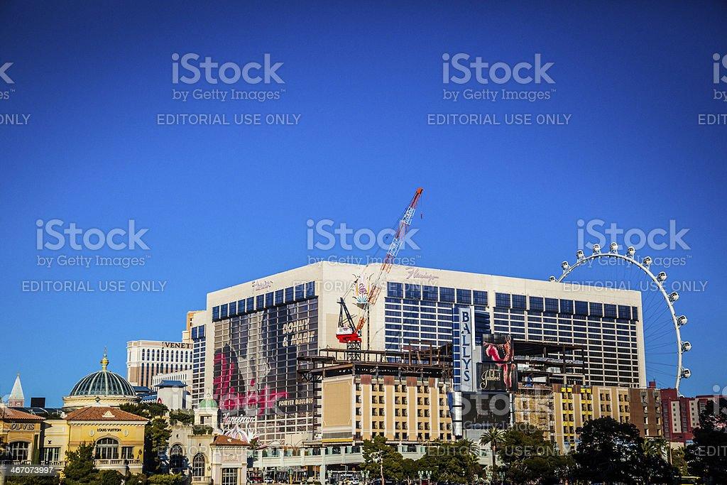 Las Vegas hotels royalty-free stock photo