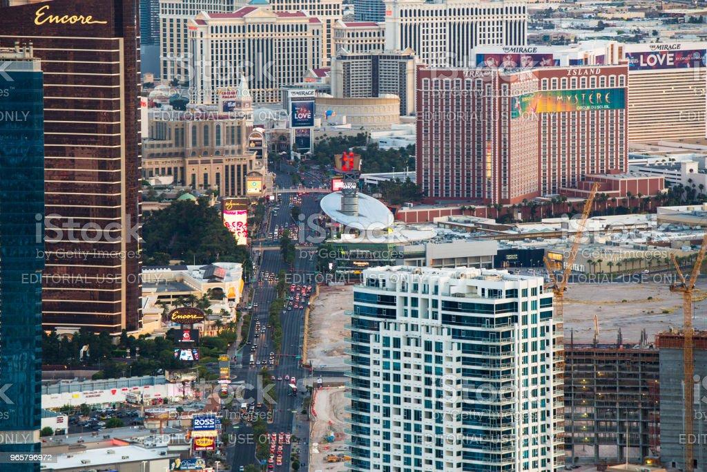 Las Vegas Hotels - Royalty-free Above Stock Photo