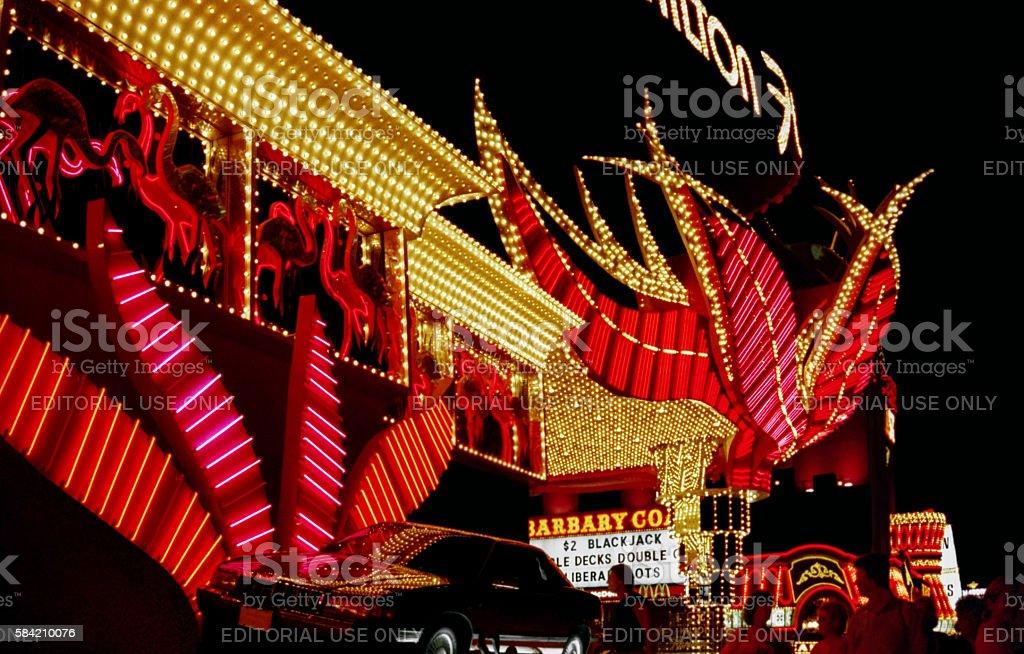 Las Vegas in 1994 stock photo