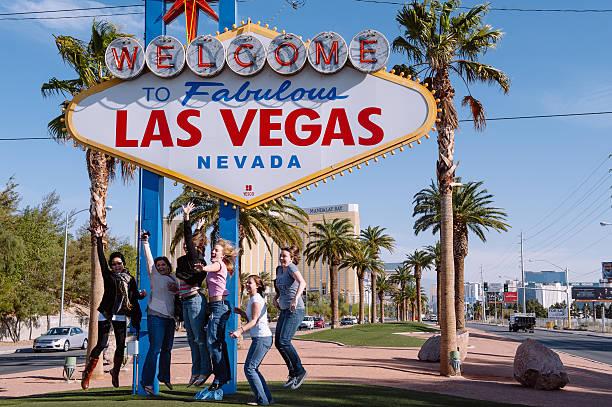 Las Vegas joy stock photo