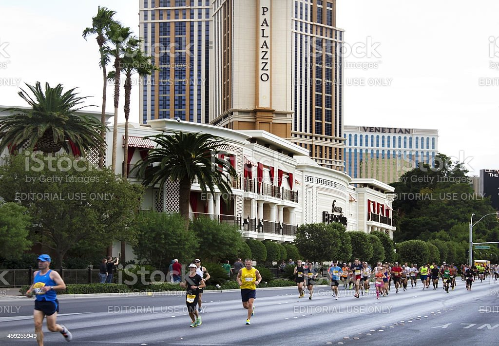 Las Vegas Marathon royalty-free stock photo