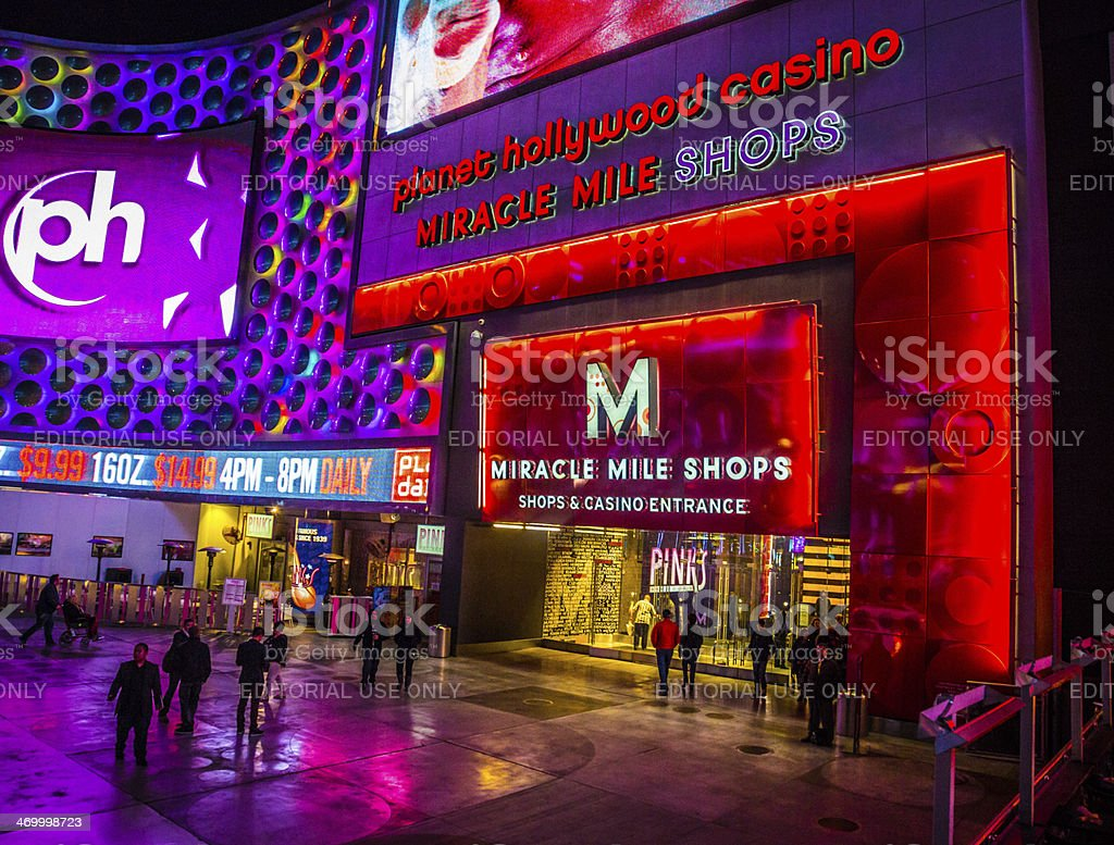 Las Vegas Miracle Mile Shops Stock Photo & More Pictures of