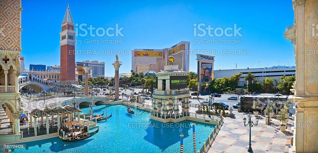 Las Vegas, Nevada, City of Sin. stock photo