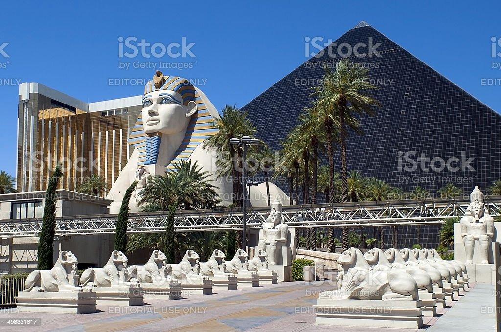 Las Vegas, Nevada -  Luxor Hotel and Casino stock photo