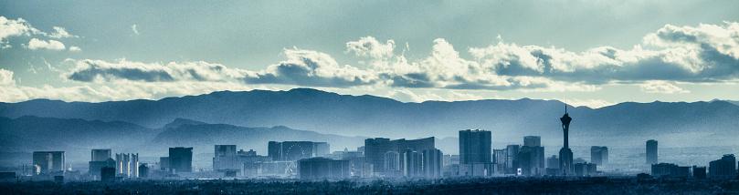 Las Vegas Nevada USA Panorama Skyline