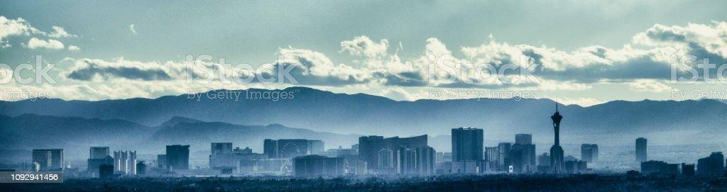 Las Vegas Nevada USA Panorama Skyline – Foto