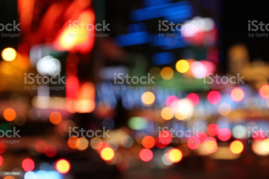 Las Vegas night stock photo
