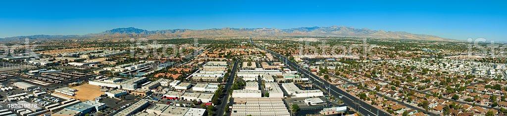 Las Vegas Panorama stock photo
